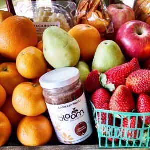 Custom Fruit Box with Citrus and Raw Honey