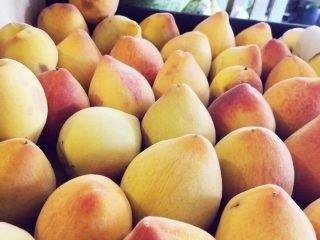Juicy Sweet Super Local Peaches