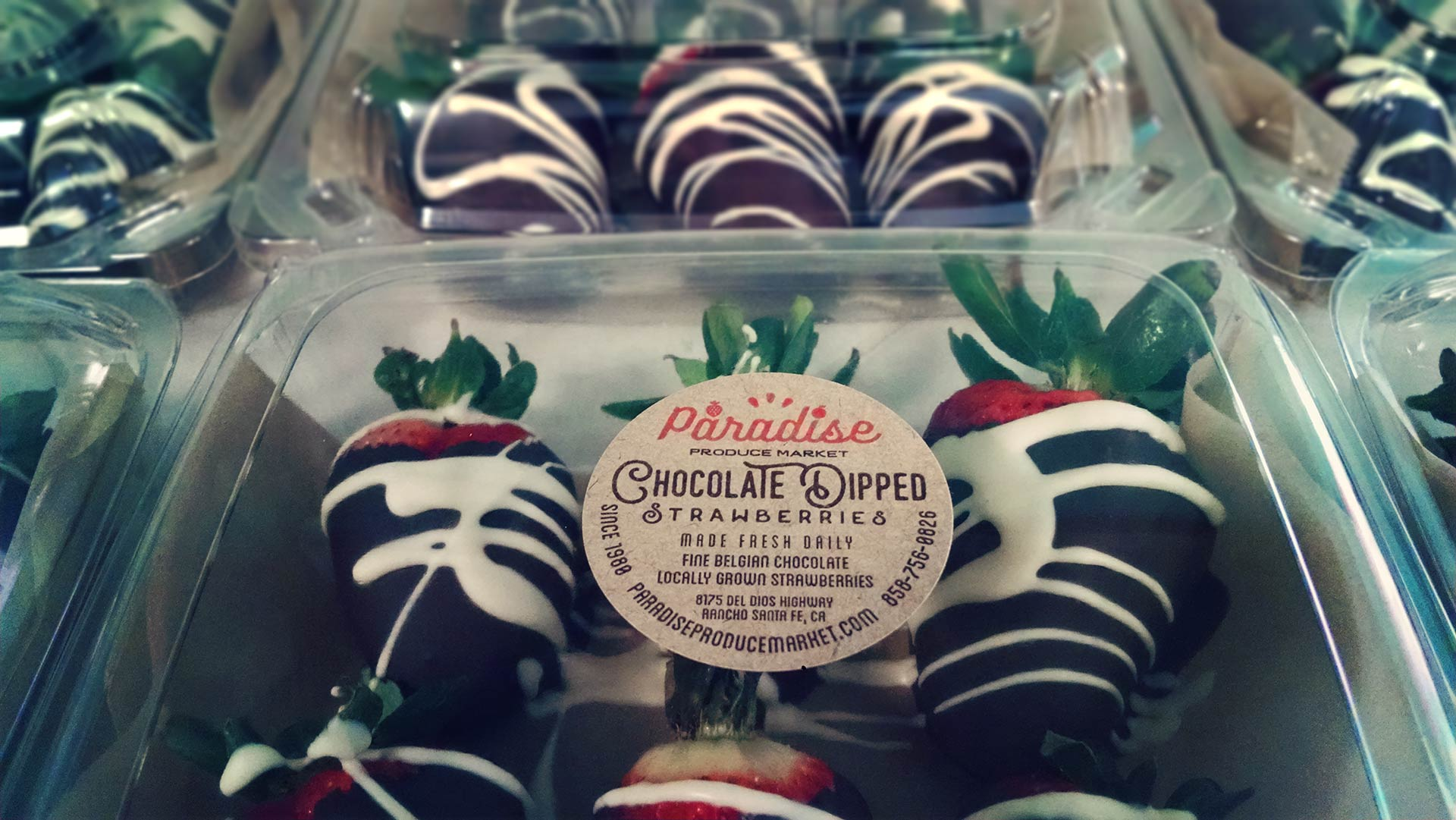 Chocolate Dipped Strawberries - Paradise Produce Market