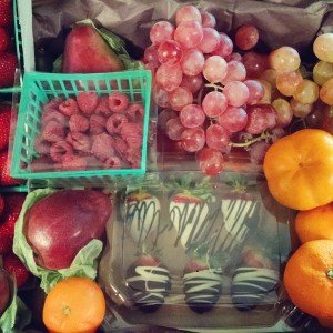 Seasonal Fruit Basket San Diego